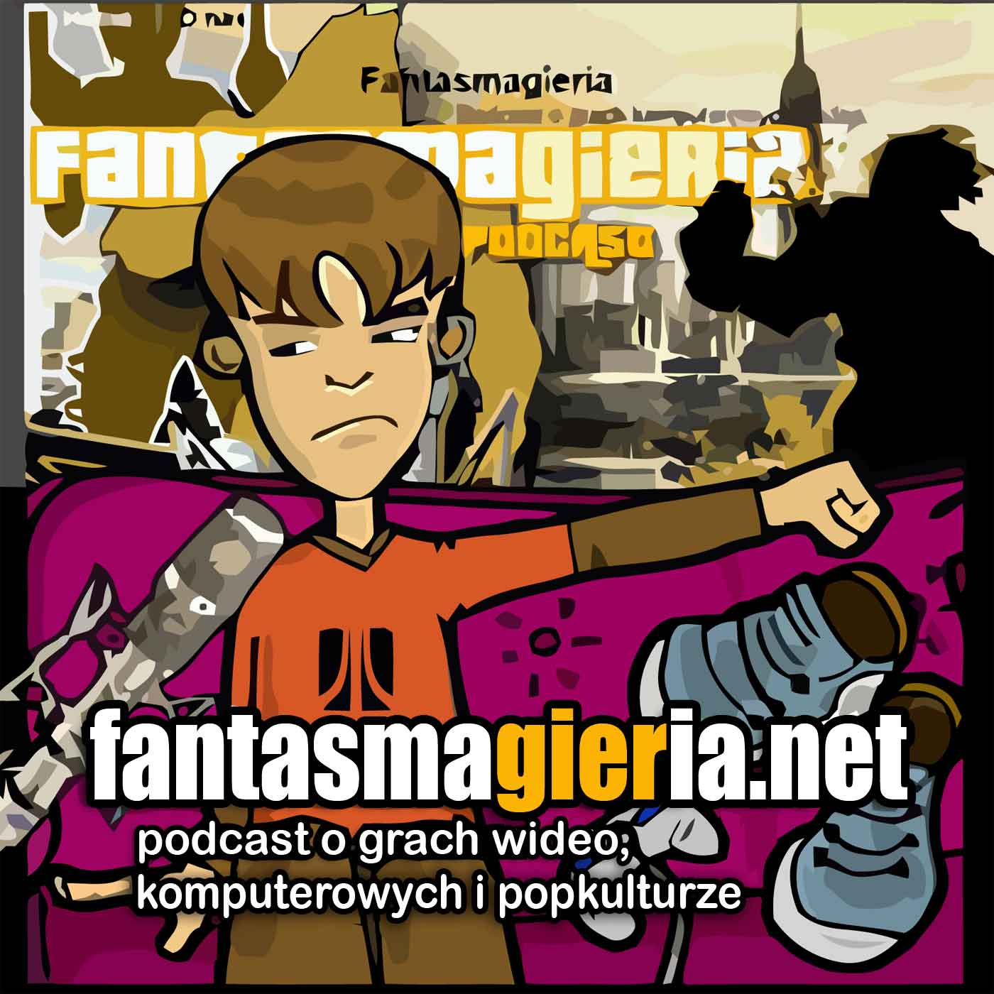 Fantasmagieria - podcast o grach wideo.